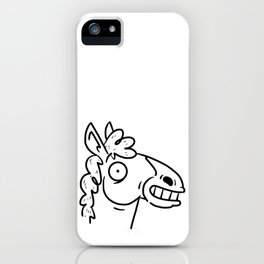 Mr Horse iPhone Case