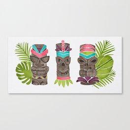 Tiki Party Canvas Print