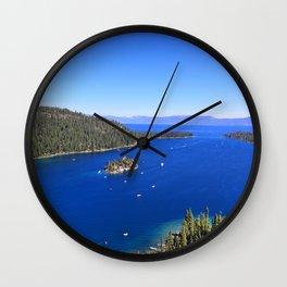 Emerald Bay Wall Clock