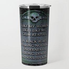 Grim Reaper Sexy Travel Mug