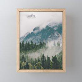 Vancouver Fog Framed Mini Art Print