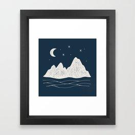 sonoran night Framed Art Print