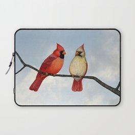 cardinal couple Laptop Sleeve