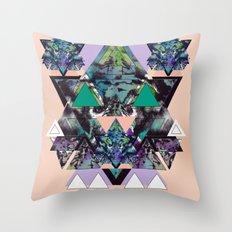 GEOMETRIC MYSTIC CREATURE Throw Pillow