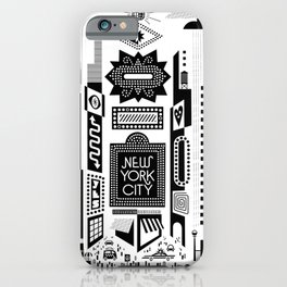 Downtown NYC iPhone Case
