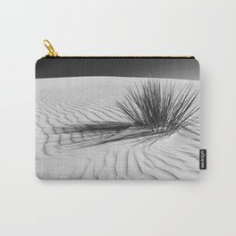 WHITE SANDS Idyllic scenery | Monochrome Carry-All Pouch