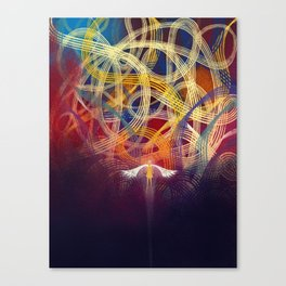 All The Roads That Might Have Been Canvas Print