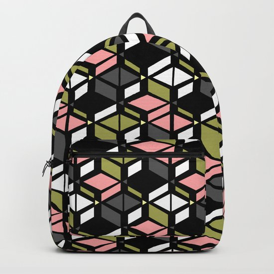 Colorful art Deco Backpack