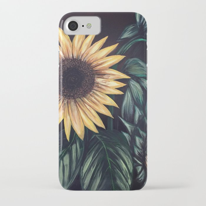 sunflower life iphone case