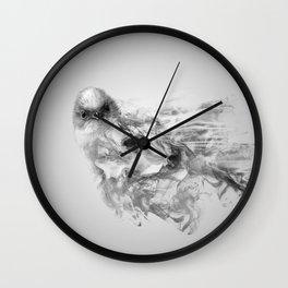 smokey long tail Wall Clock