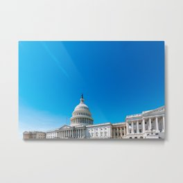 The Capitol - Washington DC Metal Print