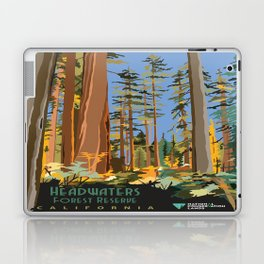 Vintage poster - Headwaters Forest Reserve Laptop & iPad Skin