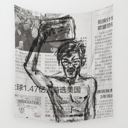 Protest 1 Wall Tapestry