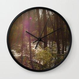 Nosferatu Forest Wall Clock