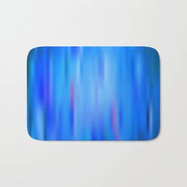 the blue color is arguing with the red color, with the green color Bath Mat
