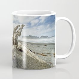 Driftwood on Rialto Beach No 0163 Coffee Mug