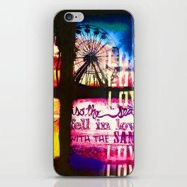 so the sea iPhone Skin