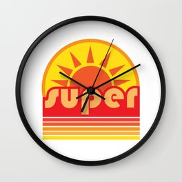 super duper Wall Clock