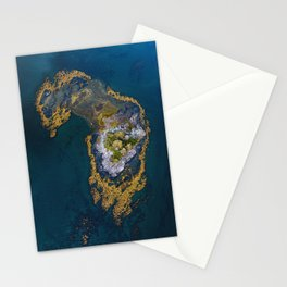 Island In The Blue Stationery Cards