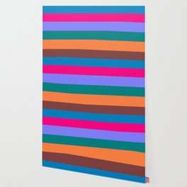 A Drive Along The Coast - Abstract Stripes Wallpaper