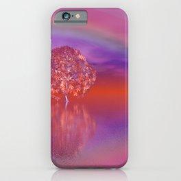 tree under rainbow -1- iPhone Case
