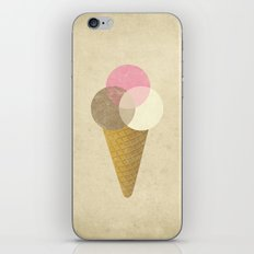 Ice Cream Venndor iPhone Skin