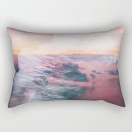 Wave of Passion Rectangular Pillow