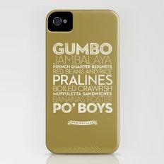 New Orleans — Delicious City Prints Slim Case iPhone (4, 4s)