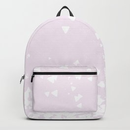 Delicate Love Rose Pink Glitter Design Backpack