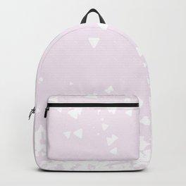 Delicate Love Rose Pink Glitter Design Backpack