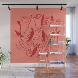 Rosey Life Wall Mural