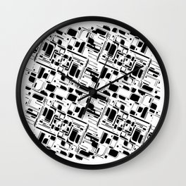 Systems Inverted Wall Clock