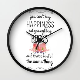 you can buy books Wall Clock