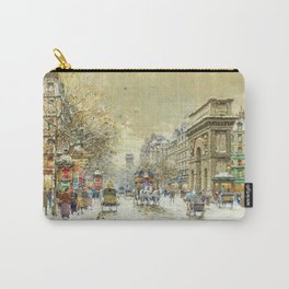 Porte St. Martin, Paris by Antoine Blanchard Carry-All Pouch
