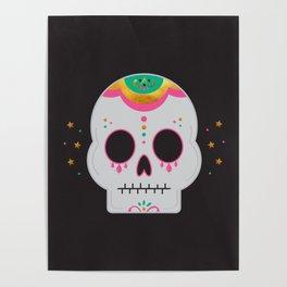 Fancy Skull Poster