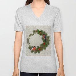 Christmas or New Year decoration Unisex V-Neck