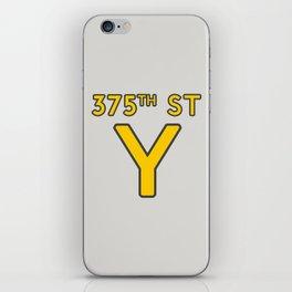 375th Street Y iPhone Skin