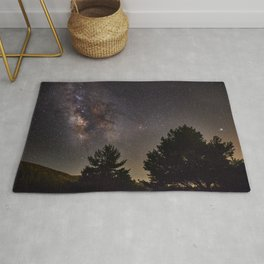 Milkyway at the mountains. Saggitarius Antares and Rho Ophiuchus Rug