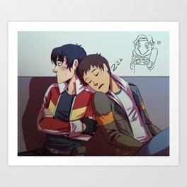 bonding!! Art Print