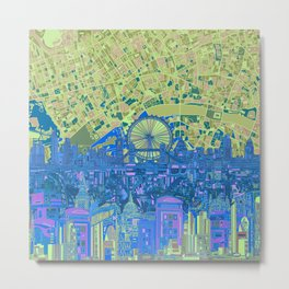 London skyline abstract 8 Metal Print