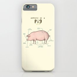 Anatomy of a Pig iPhone Case