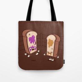 PB vs J Tote Bag