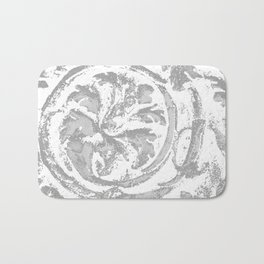 Italy in siliver Bath Mat