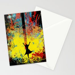 midnight symphony Stationery Cards
