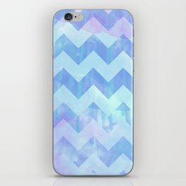 Watercolour Chevron {Spring 2015 Limited Edition} No. 2 iPhone Skin