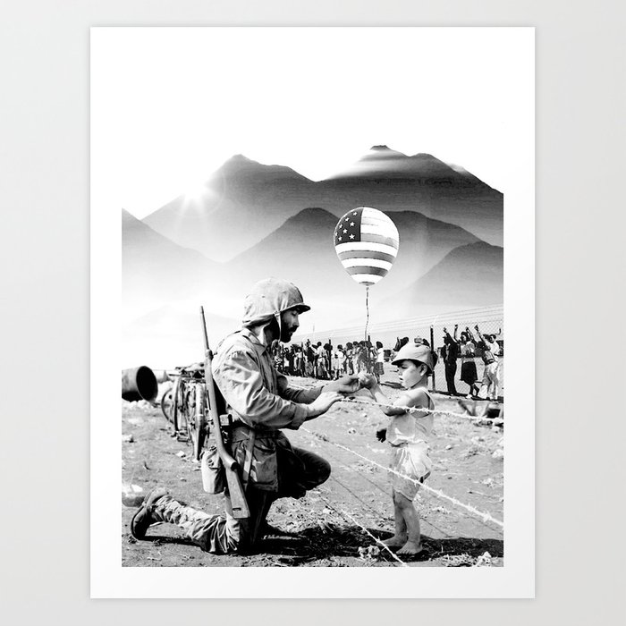 Indian Giver Art Print