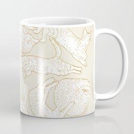 Eleven Sleepy Cat Coffee Mug