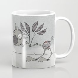 Grey Shrieky Coffee Mug