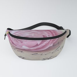 Love Letter With Ranunculus Fanny Pack