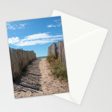 Way to the beach 2169 Stationery Cards